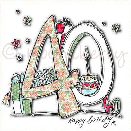 40th Birthday Cards 40th Birthday Cards – Happy 40th Birthday Card