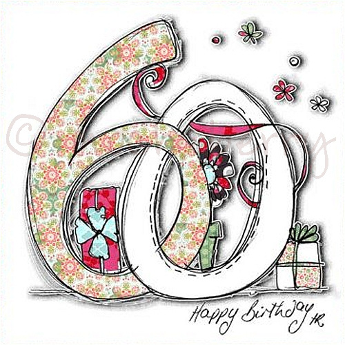 60th Birthday Card 60th Birthday Cards – Birthday Cards 60th