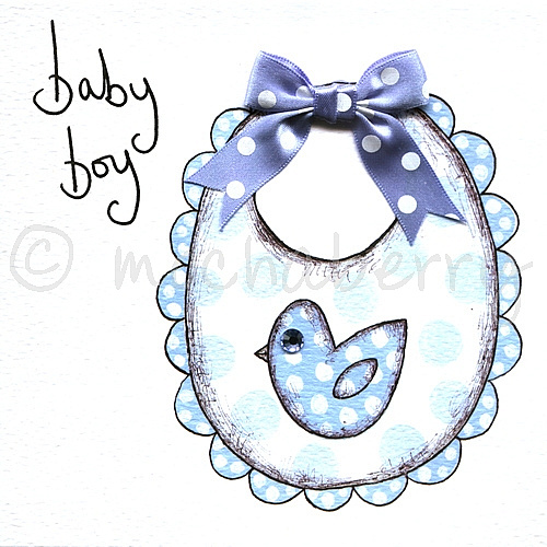 Baby boy greetings card m4hsunfo
