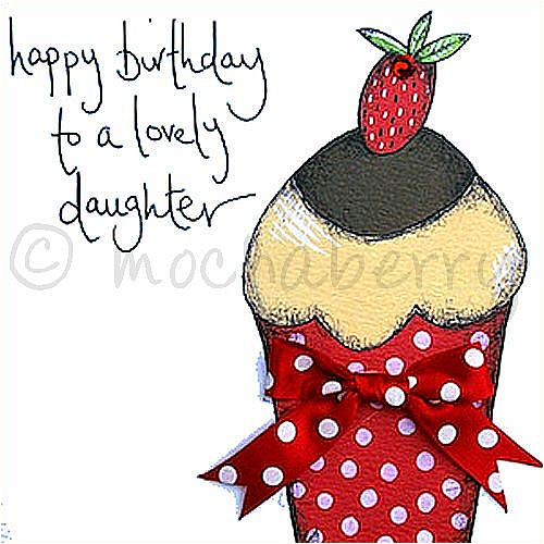 Daughter birthday greetings card – Birthday Greeting Cards Daughter