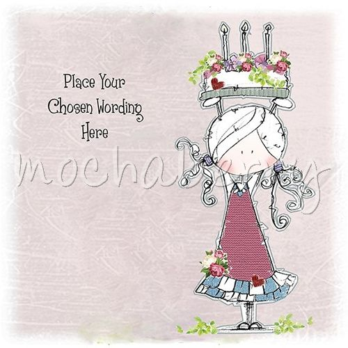 Personalised girl birthday cards girl cards personalised cards bookmarktalkfo Choice Image