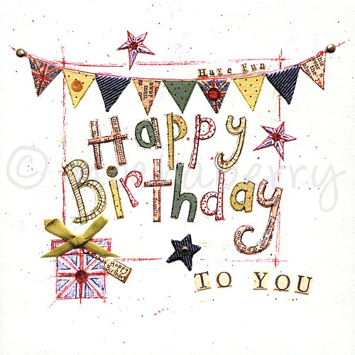 Happy birthday to you card vintage cards happy birthday cards bookmarktalkfo Image collections