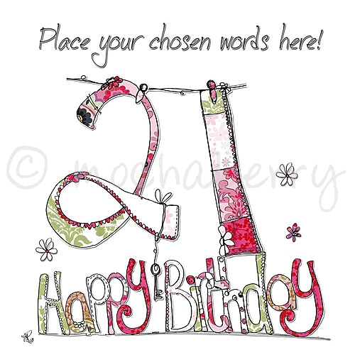 Personalised 21st birthday cards 21st birthday cards 21st card bookmarktalkfo Choice Image