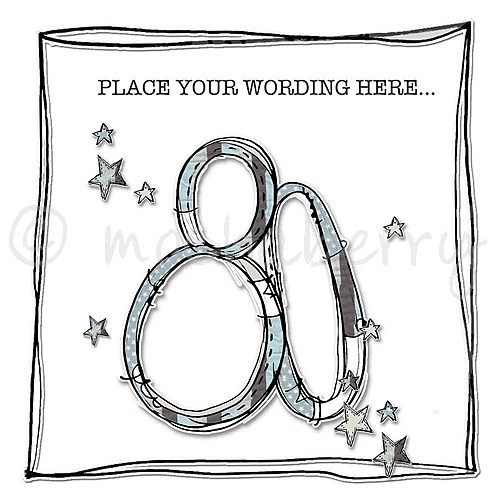 Personalised Age 80 Birthday Cards 80th Birthday Card – 80 Birthday Card