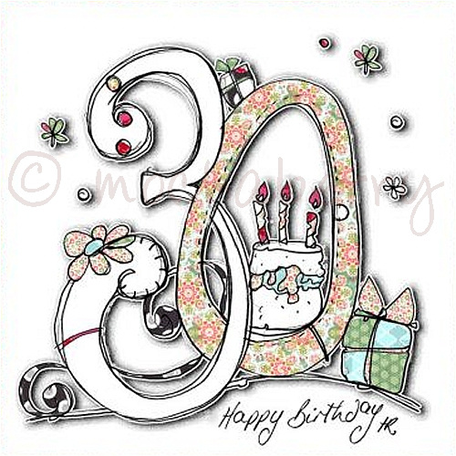 30th Birthday Card 30th Birthday Cards Thirtieth Birthday Card
