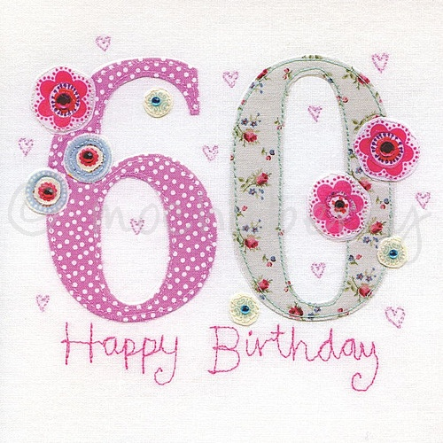 60th Birthday Cards Greeting Sixtieth