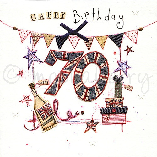 70th birthday card vintage birthday cards happy 70th birthday