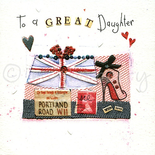 Daughter Birthday Cards