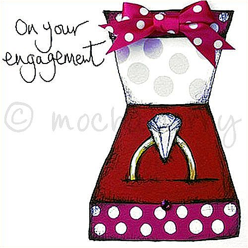 Engagement greetings card m4hsunfo