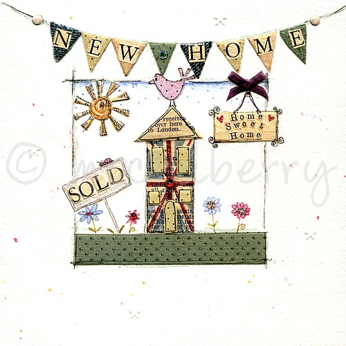 New home card vintage greetings cards new home greetings cards m4hsunfo