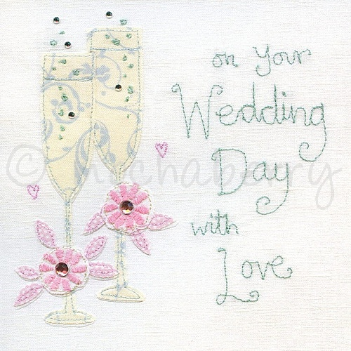 Wedding Day Cards Wedding Cards On Your Wedding Day With Love