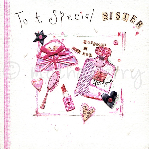 Sister birthday card sister card sister birthday greeting card m4hsunfo