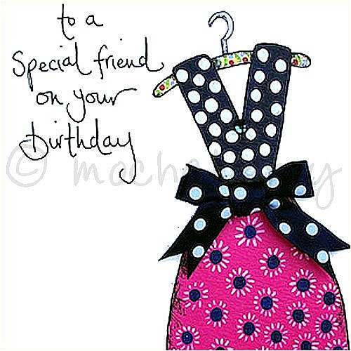 Special Friend Birthday Greetings Card